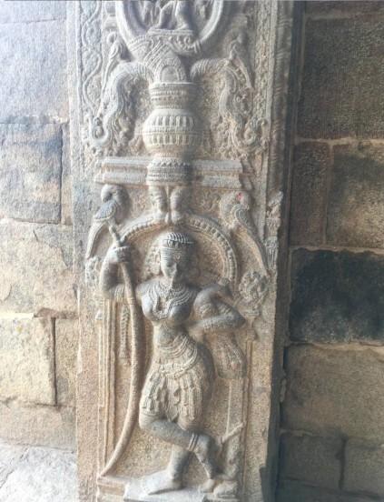 Carvings - Kolaramma temple