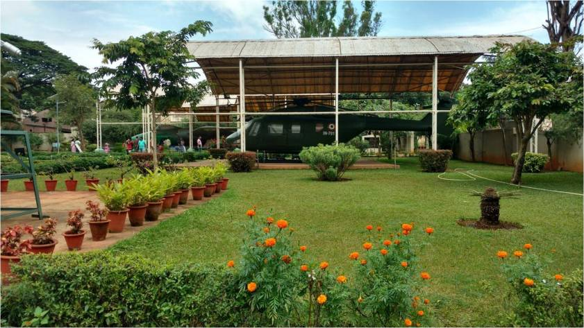 HAL Aerospace Museum - Lawns and exhibits