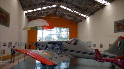 Inside the HAL Aeropace Museum