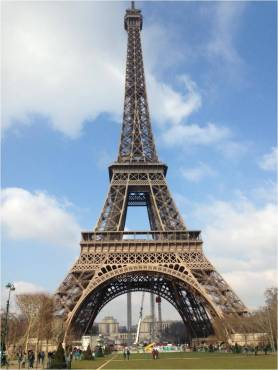 Eiffel Tower in the daytime