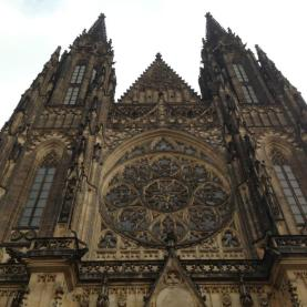 St Vitus Cathedral - close up