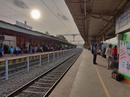 Krishnarajapuram Station - Bangalore