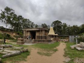 Keerthi Narayana temple - Talakadu - another view