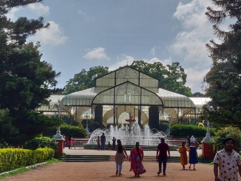 The Glass House at Lalbagh