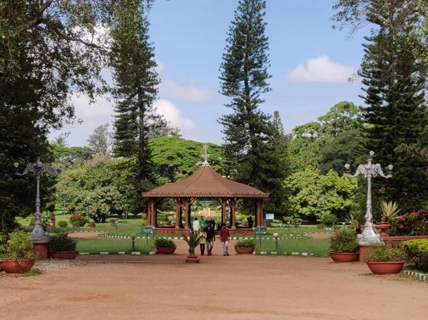 View from the Lalbagh Glass House