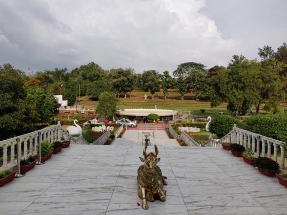 View from Vishalakshi Mantapa