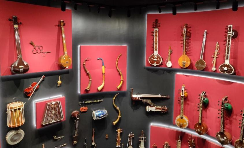 Wall of Instruments - IME