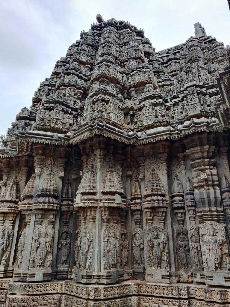 External walls of the Chennakesava Temple