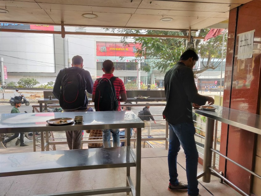 Udupi standing restaurant