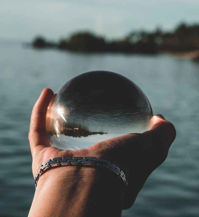 Globe and Ocean