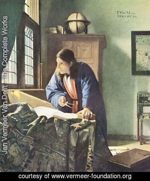 The-Geographer-C.-1668 - Jans Vermeer