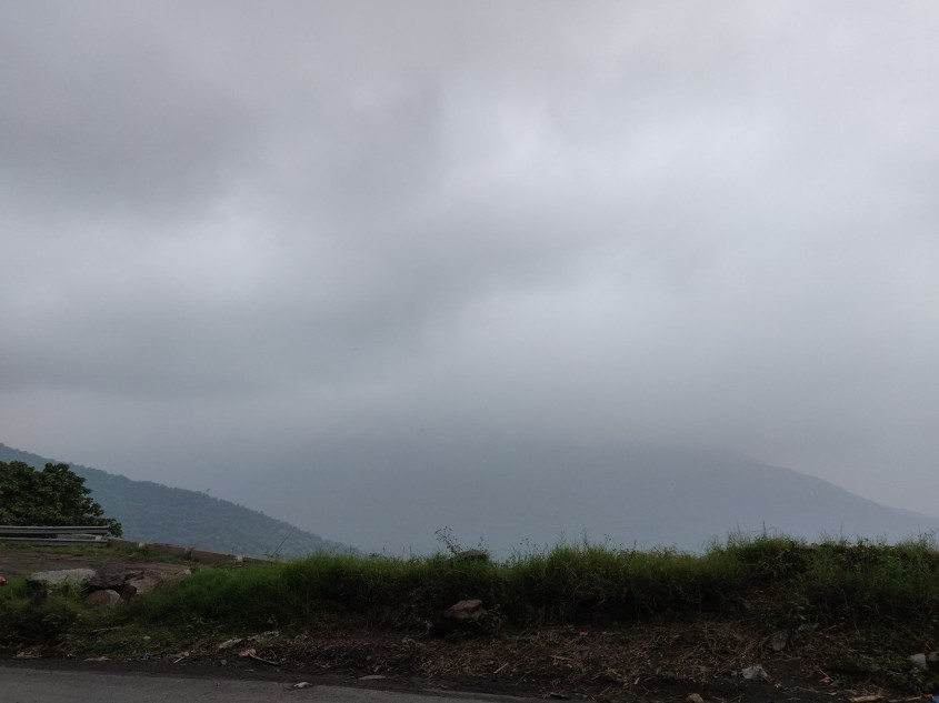 Foggy ghat section