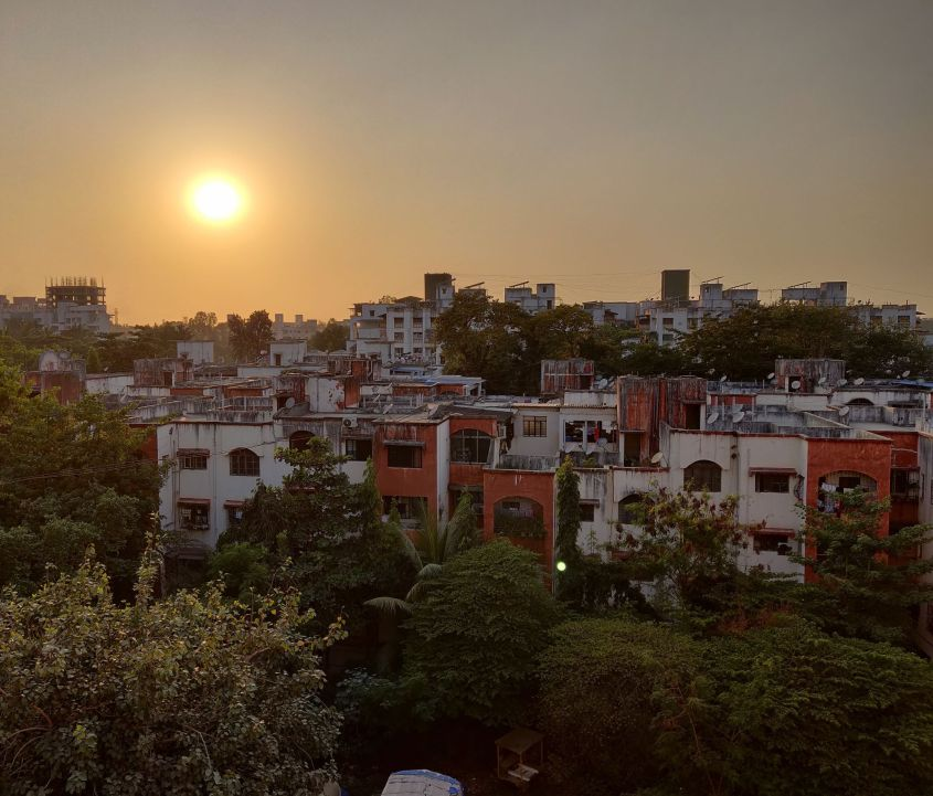 Sunset - Pune Koregaon Park