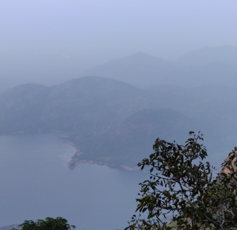 View of Aliyar Dam