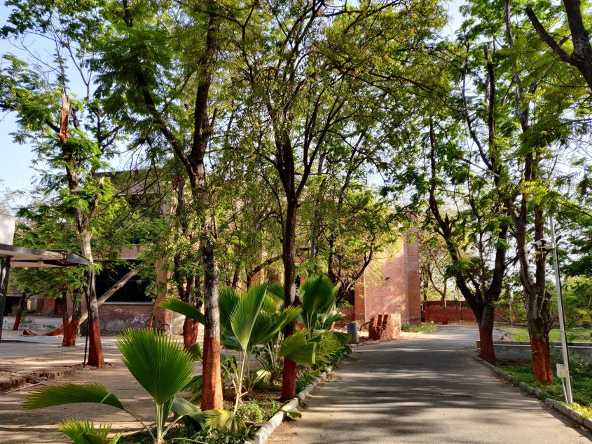 The beautiful MICA campus