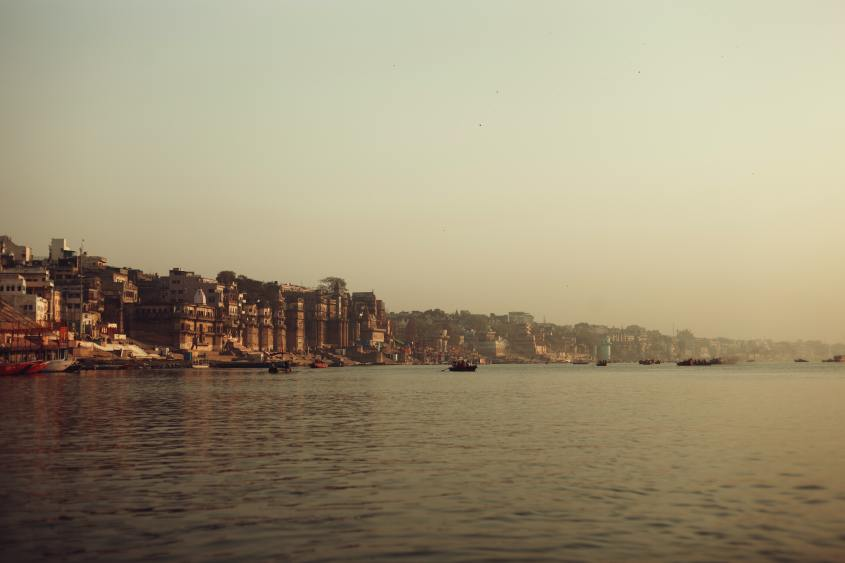 River Ganga at Varanasi
