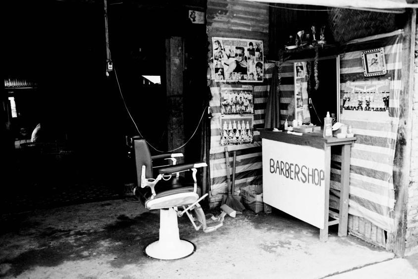 Barber shop - Laos